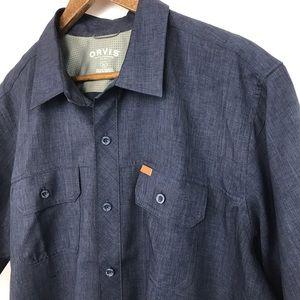 Orvis Classic Collection Men's Shirt Size XL